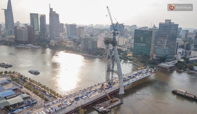 TP.HCM: Cầu Thủ Thiêm 2 sẽ thông xe vào năm sau - ảnh 1