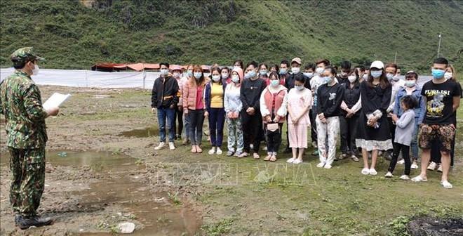 Bộ đội Biên phòng Cao Bằng ngăn chặn 41 người nhập cảnh trái phép - ảnh 2