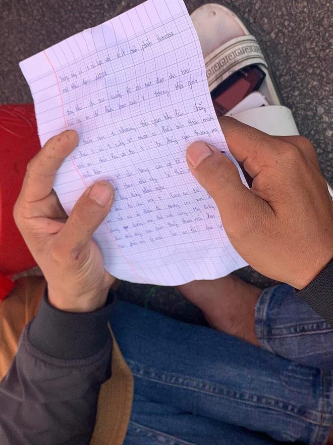 Tìm được thi thể nam sinh nhảy cầu Thuận Phước, bỏ lại thư tuyệt mệnh: Ba hãy yêu thương mẹ nhiều hơn - ảnh 3