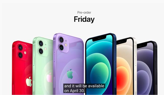 Sự kiện Apple: iPhone 12 chính thức có thêm màu mới - ảnh 3