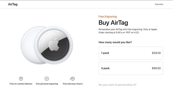 Tất tần tật về AirTag - Sản phẩm đáng mua hơn cả iPhone vừa được Apple giới thiệu, 700K cho những ai não cá vàng - ảnh 9