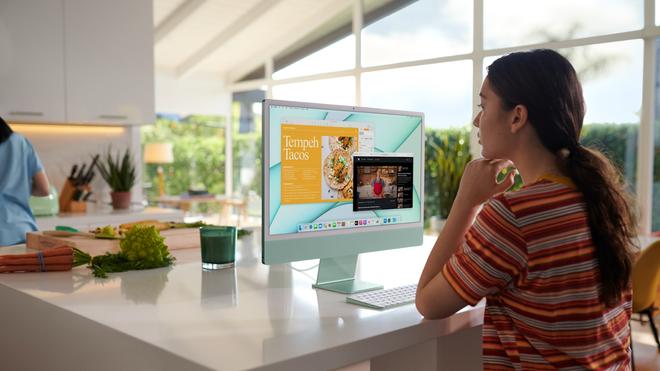 Sự kiện Apple: iMac mới có 7 màu sắc như đồ chơi, giá thấp nhất 30 triệu đồng, đặt hàng từ 30/4 - ảnh 10