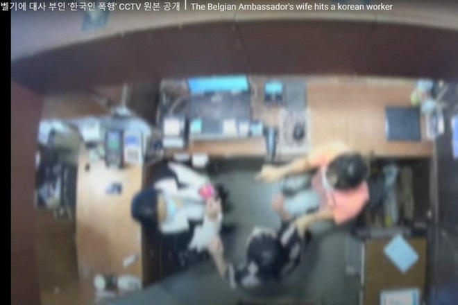 Dân mạng Hàn Quốc sôi sục vì vợ đại sứ Bỉ tát nhân viên bán hàng - ảnh 1