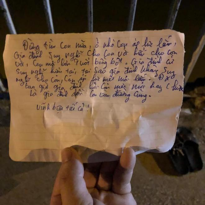 Nam thanh niên nghi nhảy cầu tự tử, để lại thư tuyệt mệnh: Đừng tìm con nữa, ở nhà con áp lực lắm - ảnh 2