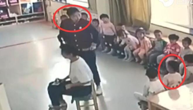 Cha mẹ bật camera vào giờ ăn trưa, phát hiện hành động tội ác rùng mình 004