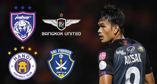 Rộ tin Hà Nội FC muốn mua tiền đạo tuyển Thái Lan - ảnh 1