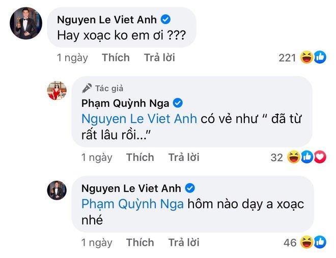 Định nghĩa thính 18 đều như vắt tranh: Quỳnh Nga cứ khoe body ngồn ngộn, Việt Anh auto vào bình luận nghe mà đỏ cả mặt - Ảnh 10.