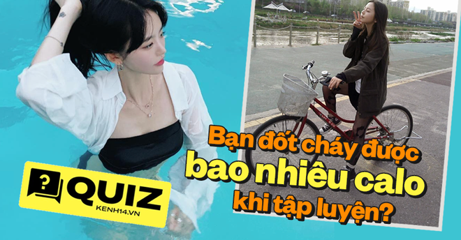 Quiz: Đố biết nhảy dây, bơi lội, đạp xe... giúp bạn đốt cháy được bao nhiêu calo nào? - ảnh 1