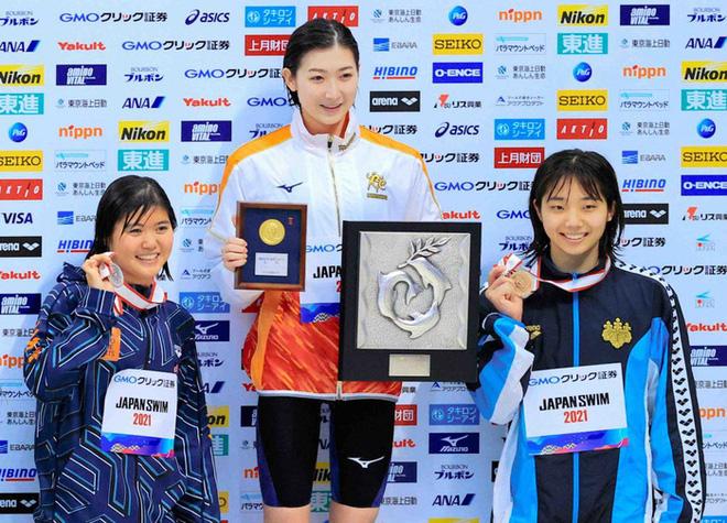 Đánh bại ung thư máu, nàng tiên cá 20 tuổi xinh đẹp người Nhật Bản giành vé dự Olympic Tokyo - ảnh 1