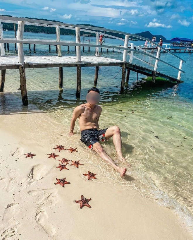 """Từ vụ sao biển chết khô ở Phú Quốc: Dân mạng tiếp tục đào thêm hàng loạt hình sống ảo đầy """"tội lỗi"""" của du khách - Ảnh 7."""
