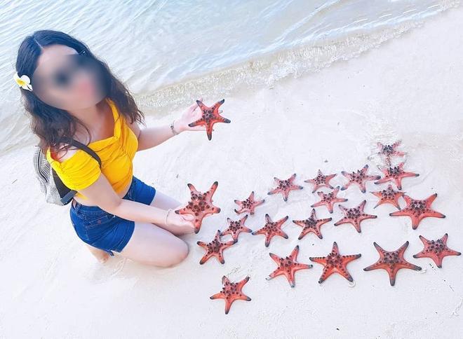 """Từ vụ sao biển chết khô ở Phú Quốc: Dân mạng tiếp tục đào thêm hàng loạt hình sống ảo đầy """"tội lỗi"""" của du khách - Ảnh 10."""