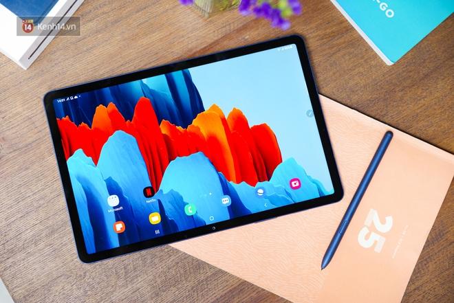 Loạt cải tiến giúp doanh nhân hiện đại vượt mọi deadline trong ngày cùng Samsung Galaxy Tab S7 & S7+.Angle 2: - ảnh 4