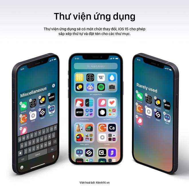 iOS 15 lộ ảnh concept đẹp lịm tim, iFan lại có một phen đứng ngồi không yên! - ảnh 8