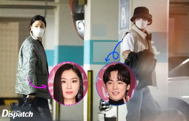 """""""Đỡ"""" không nổi lý do công ty đưa ra khi cặp đôi Seo Ji Hye - Kim Jung Hyun (Hạ Cánh Nơi Anh) bị Dispatch """"tóm sống"""" - ảnh 1"""