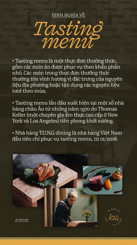 Gặp founder kiêm bếp trưởng 28 tuổi của T.U.N.G dining, nhà hàng Hà Nội vừa lọt top 100 châu Á - Ảnh 2.