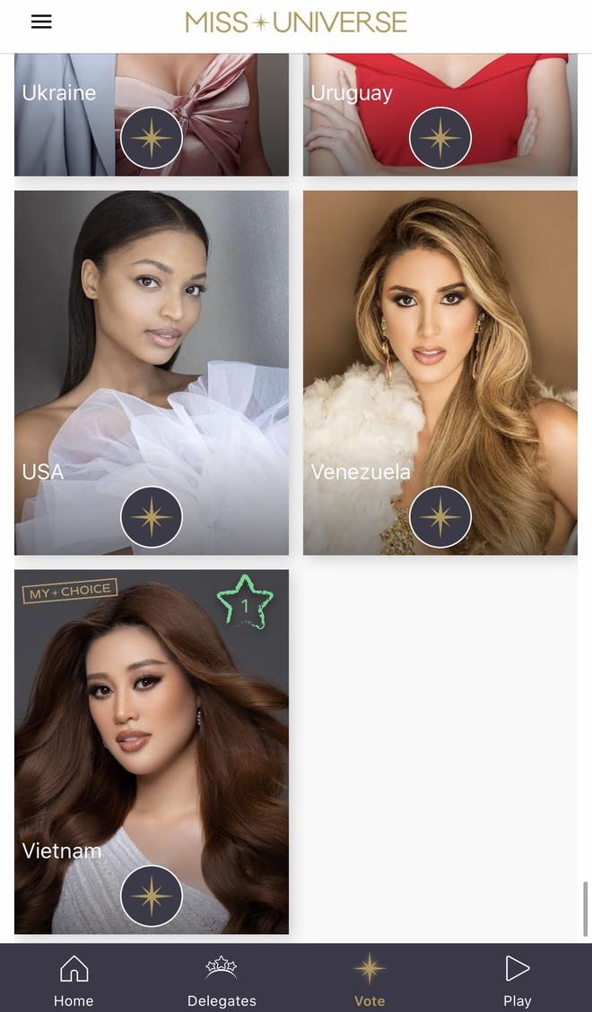 Hé lộ ảnh đại diện và cách thức bình chọn cho Hoa hậu Khánh Vân vào top 21 Miss Universe 2020! - Ảnh 4.
