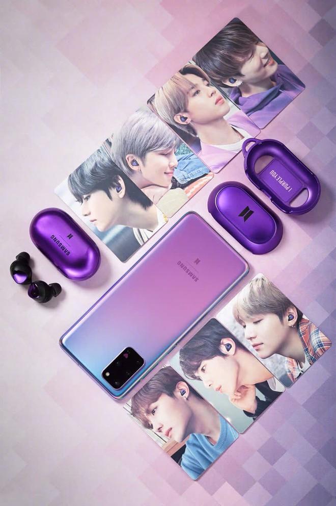 iPhone 12 tím mộng mơ đang khiến cộng đồng điên đảo, nhưng thật ra chính Samsung từng khuấy đảo thị trường với sắc tím cùng BTS từ rất lâu rồi! - ảnh 9