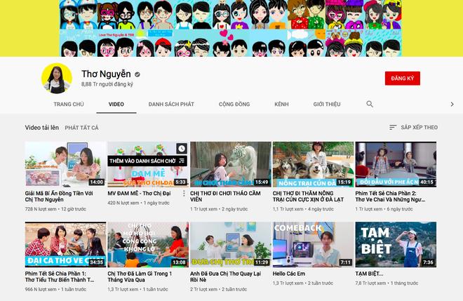 Cộng đồng mạng thật lạ: hô hào, lên án, đòi anti các kiểu, mà sao kênh YouTube Thơ Nguyễn vẫn tăng subscribers chóng mặt, sắp đạt nút Kim Cương luôn rồi? - ảnh 5