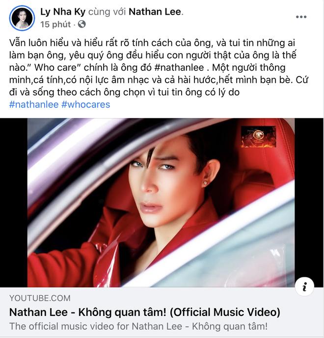 Lý Nhã Kỳ khen Nathan Lee hết lời sau loạt ồn ào làm loạn showbiz, nhắn nhủ điều gì mà khiến netizen tá hoả - ảnh 1