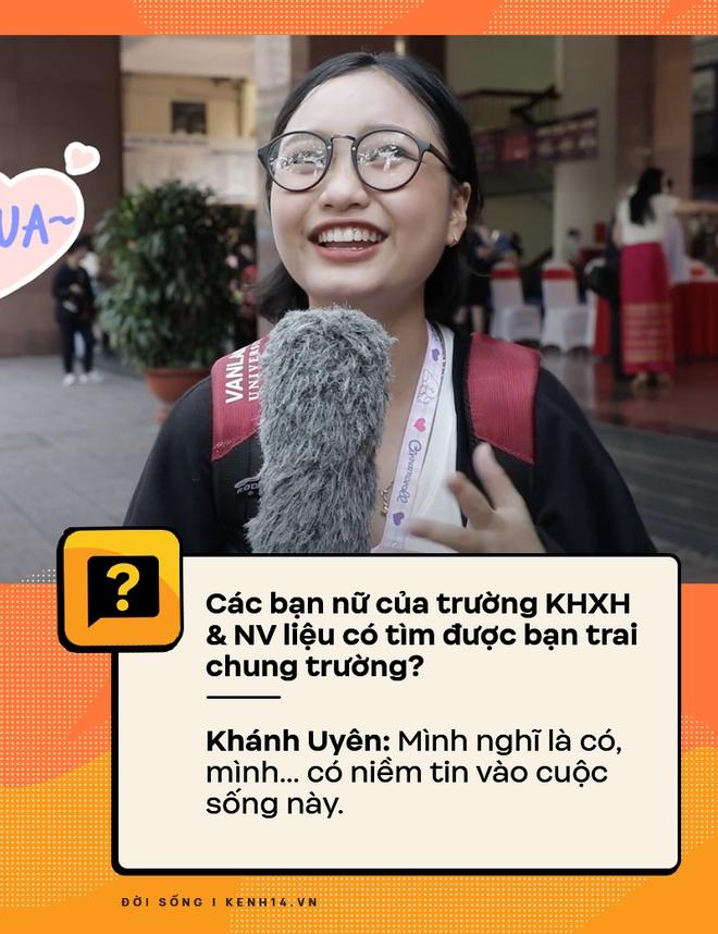 Đi hỏi sinh viên Nhân văn Sài Gòn chuyện có bồ, quan hệ - câu trả lời ra sao? - ảnh 2
