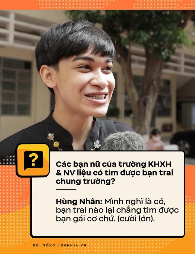 Đi hỏi sinh viên Nhân văn Sài Gòn chuyện có bồ, quan hệ - câu trả lời ra sao? - ảnh 3