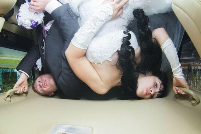 Tuyển tập những tấm ảnh cưới không đẹp tí nào nhưng chắc chắn cô dâu chú rể đều... vui tính - ảnh 16