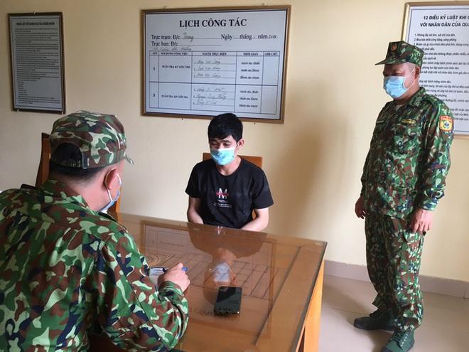 Bắt 2 người Trung Quốc nhập cảnh trái phép vào Việt Nam - ảnh 1