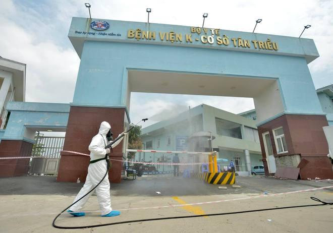 Lịch trình của BN ung thư dương tính SARS-CoV-2: Quê Nam Định, đi nhiều tuyến xe khách, trú tại CC Đại Thanh,  từng ghé nhiều bệnh viện - ảnh 1