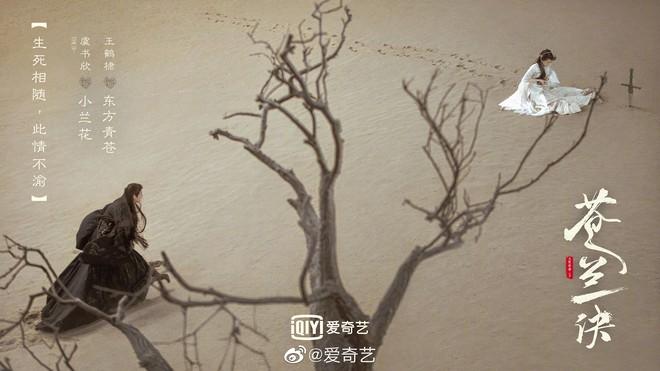 Thương Lan Quyết tung poster tranh vẽ tuyệt đẹp, fan vẫn ấm ức vì Vương Hạc Đệ không để tóc trắng - ảnh 2