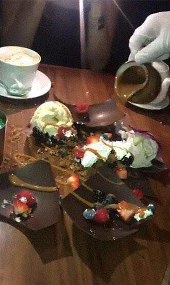 """Đỉnh cao """"làm màu"""" của các nhà hàng: Trang trí món ăn thế này có khác nào thách thức khách không? - Ảnh 11."""