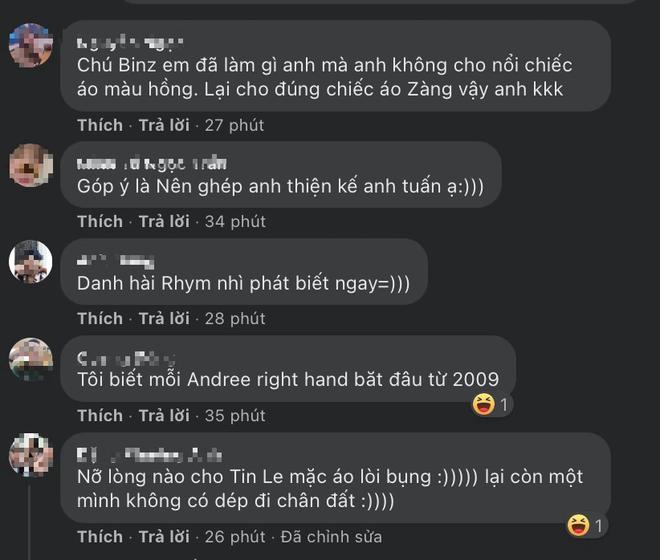 Andree đi 1 đường phép thuật Winx làm dàn rapper hot nhất Việt Nam teo nhỏ lại, nhìn đến Binz mà tức á! - ảnh 12