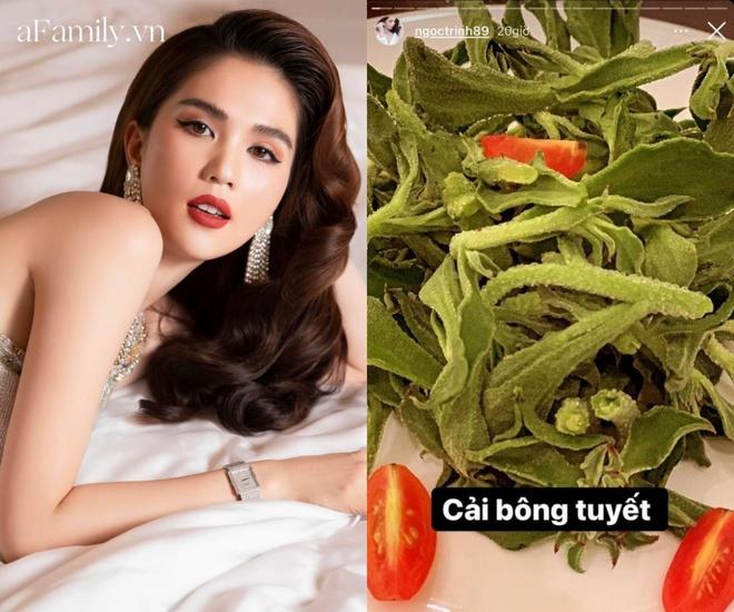 Loại rau đắt hơn thịt mà Ngọc Trinh ăn hàng ngày để giữ dáng và giúp đẹp da - ảnh 1