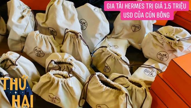 Hot mom nhiều túi Hermès hơn cả Ngọc Trinh hé lộ gia tài túi hơn 30 tỷ, nhiều mẫu hot hit chưa chắc có tiền đã mua được - ảnh 2