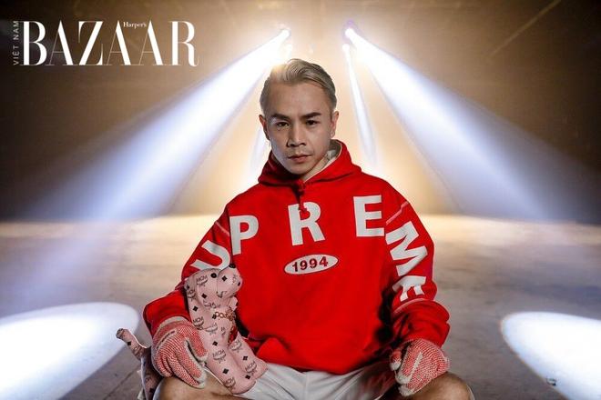 Andree đi 1 đường phép thuật Winx làm dàn rapper hot nhất Việt Nam teo nhỏ lại, nhìn đến Binz mà tức á! - ảnh 3