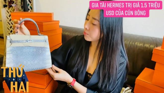 Hot mom nhiều túi Hermès hơn cả Ngọc Trinh hé lộ gia tài túi hơn 30 tỷ, nhiều mẫu hot hit chưa chắc có tiền đã mua được - ảnh 5