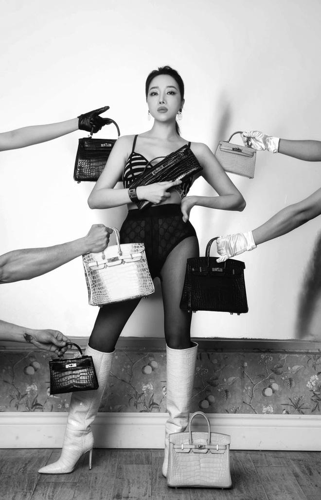 Hot mom nhiều túi Hermès hơn cả Ngọc Trinh hé lộ gia tài túi hơn 30 tỷ, nhiều mẫu hot hit chưa chắc có tiền đã mua được - ảnh 7