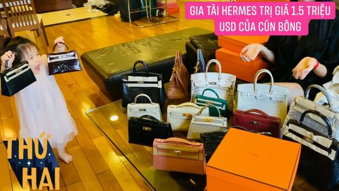 Hot mom nhiều túi Hermès hơn cả Ngọc Trinh hé lộ gia tài túi hơn 30 tỷ, nhiều mẫu hot hit chưa chắc có tiền đã mua được - ảnh 10