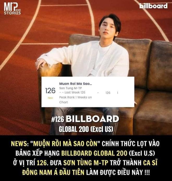 Ấn tượng: Sơn Tùng M-TP lọt vào BXH Billboard Global toàn cầu, là nghệ sĩ Việt Nam đầu tiên làm được điều này! - ảnh 7