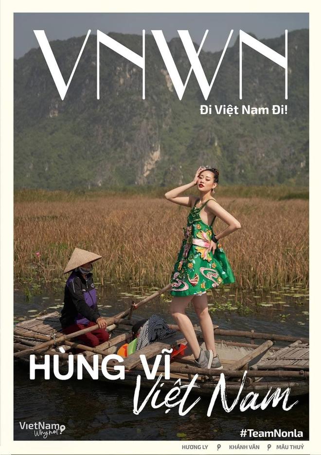 Thời tới cản không kịp, Khánh Vân được ưu ái xuất hiện đến 2 lần trong clip quảng bá của Miss Universe! - ảnh 3