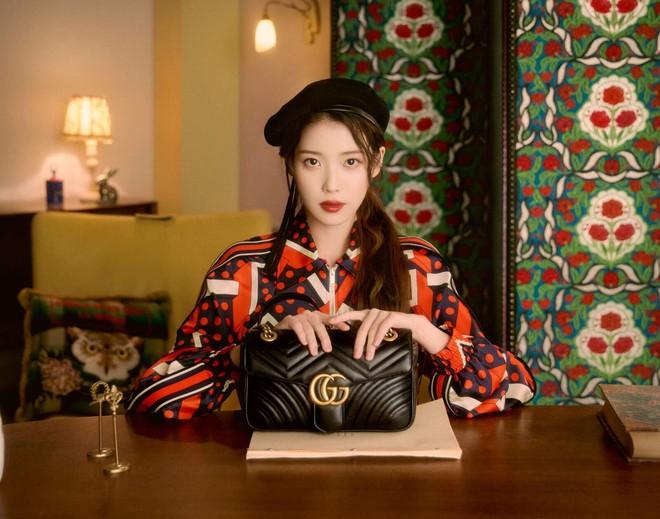 IU diện đồ Gucci và nhận loạt lời cay đắng từ netizen: Giống mấy bạn hot girl mạng cố học đòi diện hàng hiệu! - ảnh 8