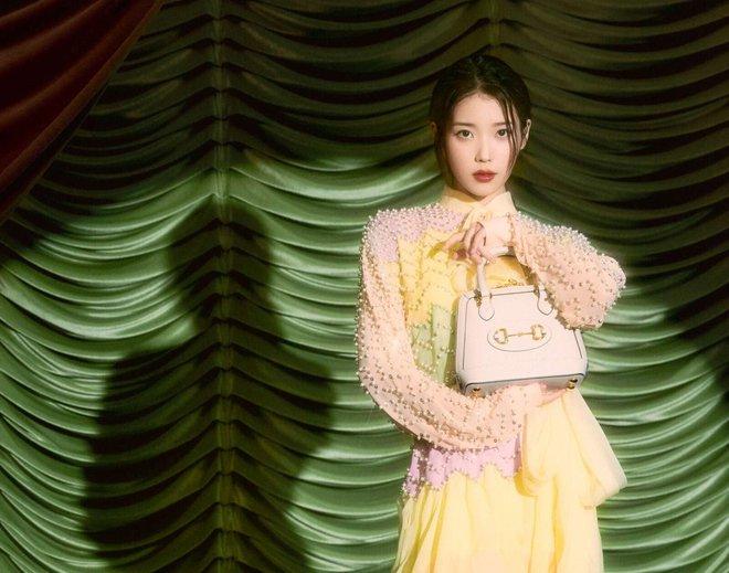 IU diện đồ Gucci và nhận loạt lời cay đắng từ netizen: Giống mấy bạn hot girl mạng cố học đòi diện hàng hiệu! - ảnh 7