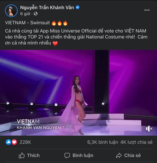 Lượt tương tác của Hoa hậu Khánh Vân bùng nổ trên mạng xã hội, từ nay hãy gọi cô ấy là Social Queen - ảnh 4
