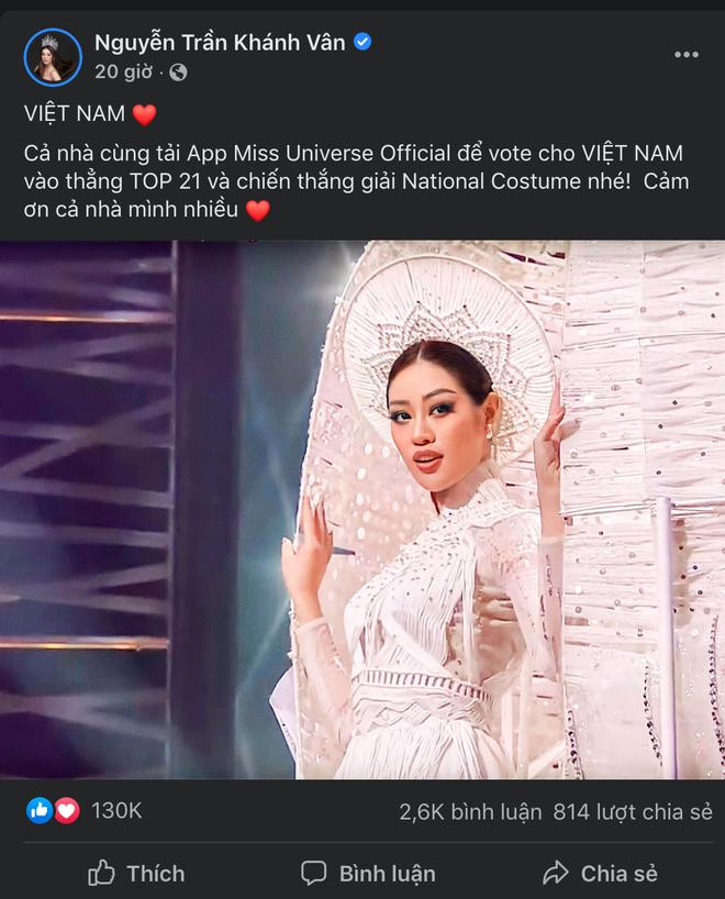 Lượt tương tác của Hoa hậu Khánh Vân bùng nổ trên mạng xã hội, từ nay hãy gọi cô ấy là Social Queen - ảnh 5