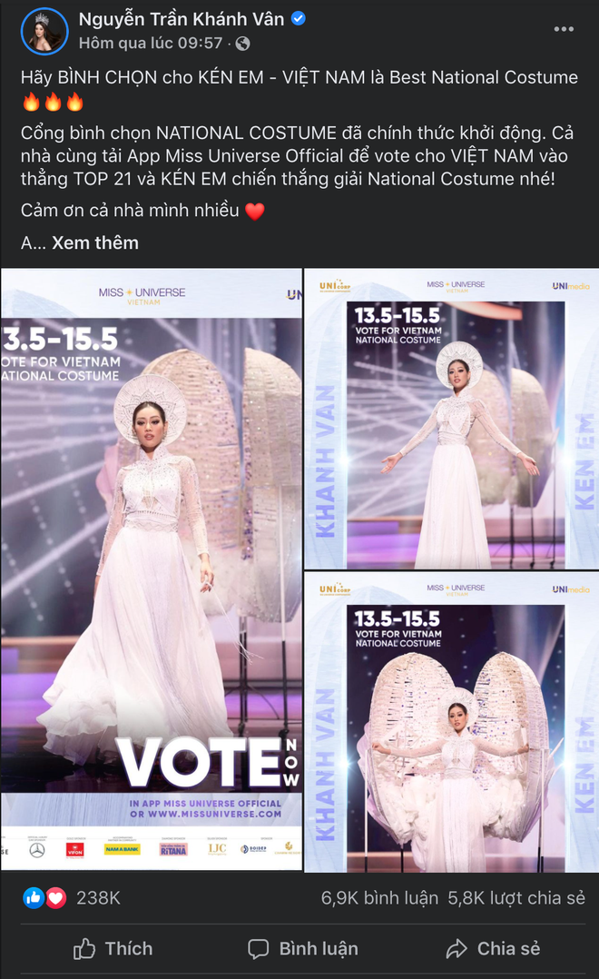 Lượt tương tác của Hoa hậu Khánh Vân bùng nổ trên mạng xã hội, từ nay hãy gọi cô ấy là Social Queen - ảnh 7