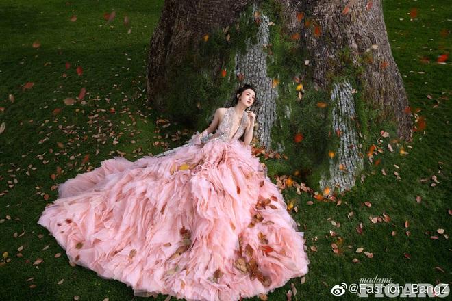Quên ngay bộ ảnh vô hồn chụp với đàn chị đi, đây mới là loạt khung hình đẹp thần sầu của Triệu Lệ Dĩnh khiến Weibo nức nở - ảnh 2
