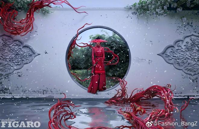 Quên ngay bộ ảnh vô hồn chụp với đàn chị đi, đây mới là loạt khung hình đẹp thần sầu của Triệu Lệ Dĩnh khiến Weibo nức nở - ảnh 8