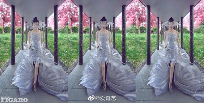 Quên ngay bộ ảnh vô hồn chụp với đàn chị đi, đây mới là loạt khung hình đẹp thần sầu của Triệu Lệ Dĩnh khiến Weibo nức nở - ảnh 9