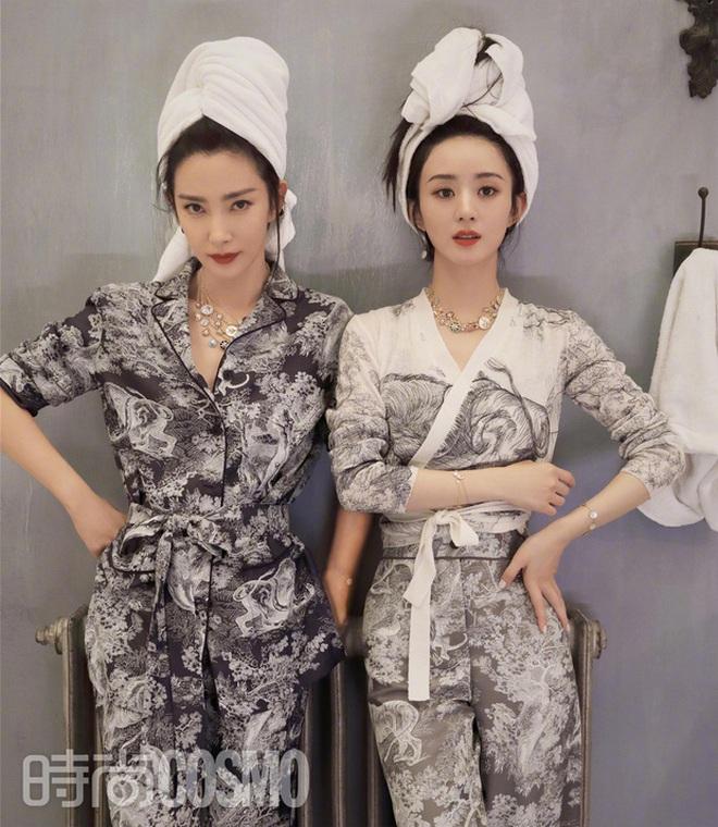 Quên ngay bộ ảnh vô hồn chụp với đàn chị đi, đây mới là loạt khung hình đẹp thần sầu của Triệu Lệ Dĩnh khiến Weibo nức nở - ảnh 11
