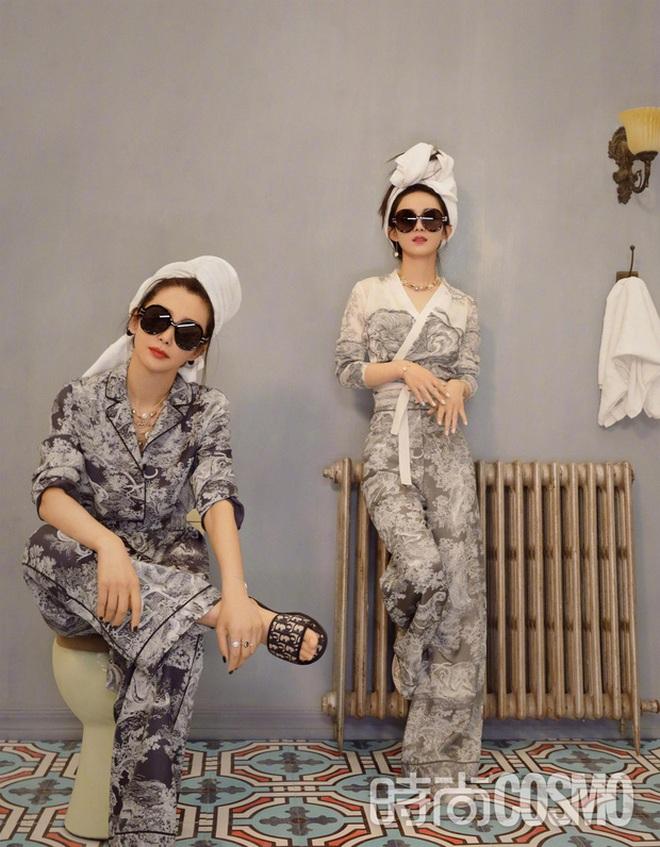 Quên ngay bộ ảnh vô hồn chụp với đàn chị đi, đây mới là loạt khung hình đẹp thần sầu của Triệu Lệ Dĩnh khiến Weibo nức nở - ảnh 10
