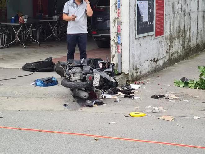 Điều tra vụ ôtô truy đuổi, tông thẳng vào xe máy, chèn qua làm 2 người tử vong - ảnh 2